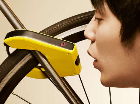 Breathalyzer Bike Locks - The Alcho-Lock Prevents Drinking and Riding on a Bike