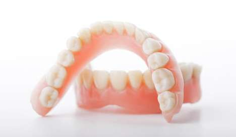 3D-Printed Dentures - These Custom Dentures are Fit to a Patient's Mouth with Extreme Accuracy