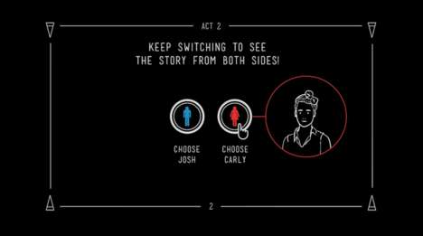 Two-Sided Storytelling Ads - Cornetto's Interactive YouTube Video Tells 'Two Sides' of a Story