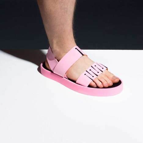 Genderless Footwear Collections - The Tam Sandals Range Boasts Soft and Comfortable Footwear