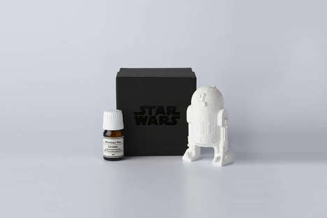 Sci-Fi Scent Diffusers - The Library Shop's Star Wars Fragrance Diffusers Celebrate Film Icons