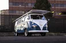 DIY Solar Vans - Daniel Theobald's DIY Solar Car Project Turns an 1966 Volkswagen Eco-Friendly