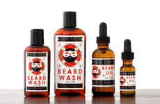 Organic Beard Washes - This All-Natural Beard Shampoo Uses Essential Oils to Ensure Proper Care