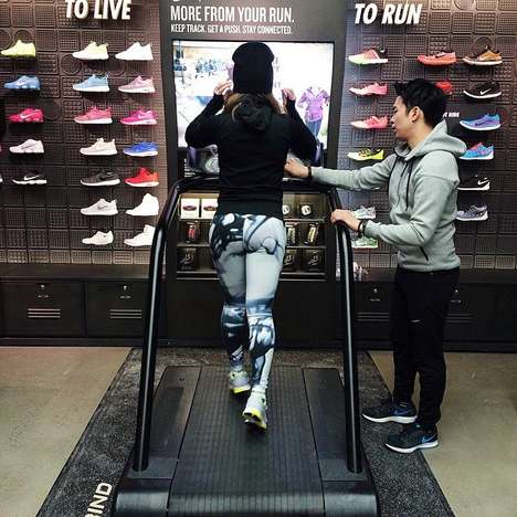 Futuristic Athletic Retailers - The Personalized Nike Experience at its New Stores Redefines Retail