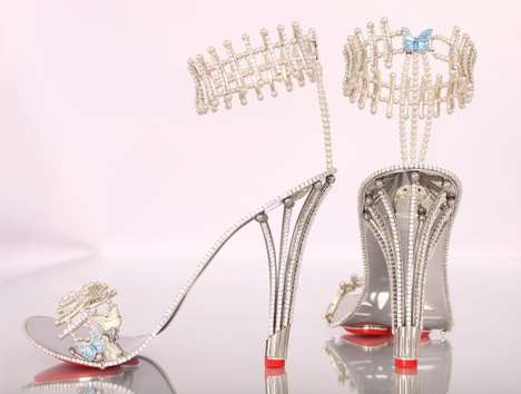 Bank-Breaking Diamond Stilettos - The House of Borgezie 'Crown Jewels of Stilettos' Cost $311,000