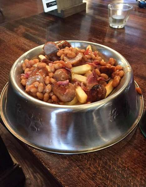 Canine-Themed Dishes - This British Restaurant Serves Its Meals in Dog Bowls