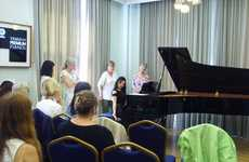 Pianist Yoga Classes - Schott's Yoga for Musicians Classes Help Pianists Perform Better