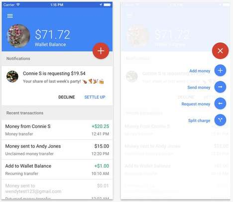 Automatic Digital Wallet Top-Ups - A New Google Wallet Feature Allows Programmable Money Transfers
