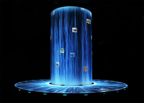 LED Waterfall Displays - The Japan Pavilion from Teamlab Immerses Guests is an LED Light Show