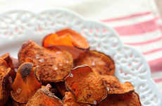 Cinnamon Vegetable Chips - These Cinnamon Sugar Sweet Potato Chips are the Healthy Way to Snack