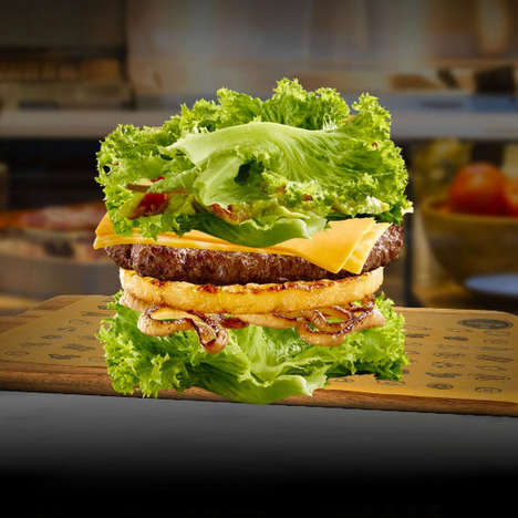 Lettuce-Wrapped Hamburgers - McDonald's Australia is Now Offering Cosumers a Low-Barb Buger Option