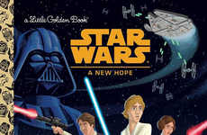 The Star Wars Golden Books Bring the Iconic Characters to Children