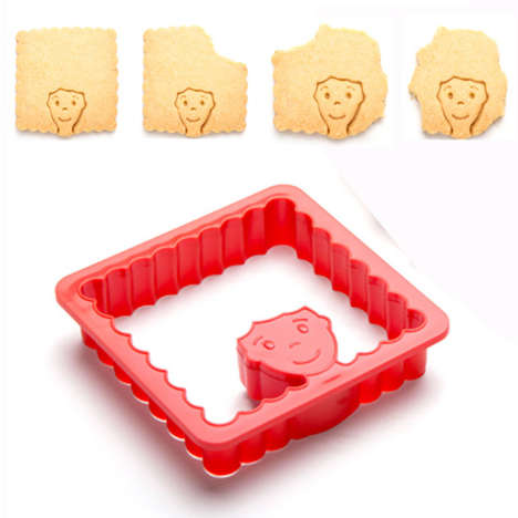 Hairdressing Cookie Cutters - The 'Hairdo' Shaped Cookie Cutter Gives a Baked Treat a Makeover