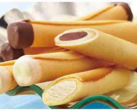 Cigar-Shaped Dessert Sticks