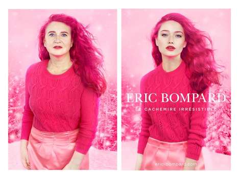 Fashion Parody Editorials - These Images Recreate Fashion Editorials with Middle-Aged Women