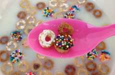 Create Adorable Doughnut Cheerios by Adding Frosting and Sprinkles