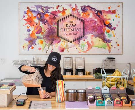 15 Examples of Juice Bar Merchandising