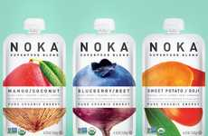 Superfood Smoothie Pouches - NOKA's Portable Pouches Aid in Healthy Consumption on the Go