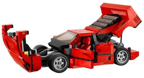 Complimentary Hotel LEGO Kits - The Starwood Hotel Provides Young Guests with Free LEGO Kits