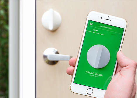 Streamlined Smart Locks - This High-Tech Door Lock Removes the Bulk of Other Smart Deabolts