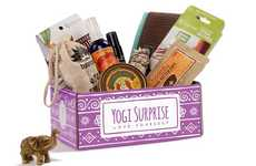 Mindful Lifestyle Subscriptions - Yogi Surprise's Monthly Gift Boxes Support the Yoga Lifestyle