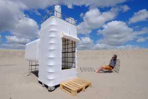 'UrbanCampsiteAmsterdam' is Showcasing Modern Sculptures at its Campsite