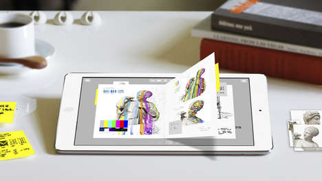 Creative-Minded Journal Apps - Morpholio's Journal App Lets Users Draw, Doodle, Write and Design