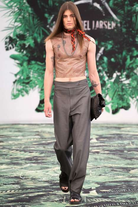 Safari Punk Collections - This Asger Juel Larsen Spring Collection Features Edgy Explorer Style
