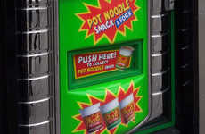 Ramen Noodle Vending Machines - This Unconventional Vending Machine Provides Savory Noodle Dishes