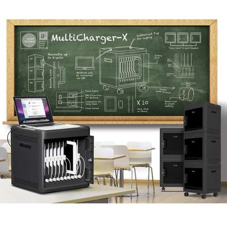 Bulk Charging Stations - Charge All Your Devices at Once with the The Multicharger-X