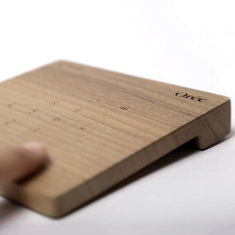 Natural Wooden Trackpads - Orée's Wooden Trackpad Gives Your Computer an Outdoor Feel