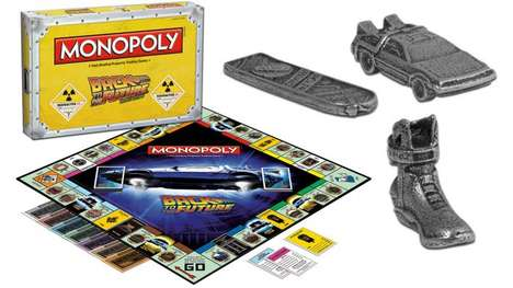 Movie-Themed Board Games - Monopoly Announces the Release Date for its Back to the Future Version