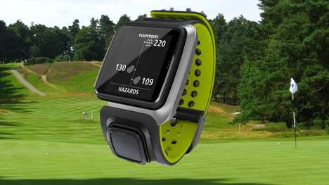 Informative Golf Watches - The Golfer by TomTom Teaches Golfers About Courses as They Play