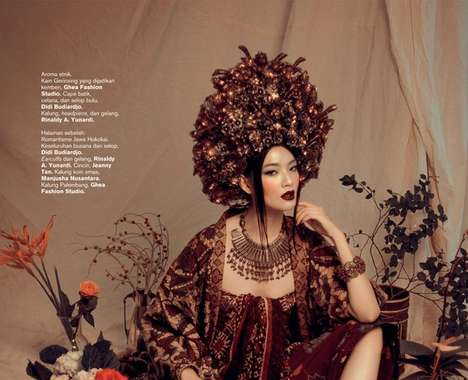 Ornate Oriental Fashions