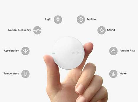 Intuitive Home Trackers - Notion is a Smart Home Monitoring System That Keeps Everything in Check