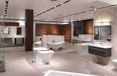 Luxury Appliance Stores - Shoppers Can Take a Shower at This New High-End Appliance Store