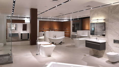 Shoppers Can Take a Shower at This New High-End Appliance Store