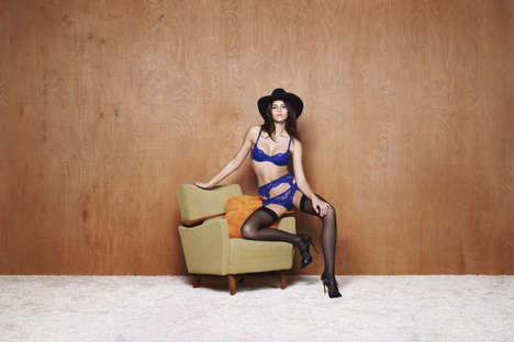 Western Lingerie Lookbooks - The Latest L'Agent F/W Lookbook Features a Retro Cowboy Aesthetic
