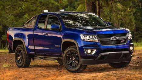 Bossy Off-Road Trucks - Chevrolet's 'Trail Boss' Upgrade Takes the Colorado Z71 Off-Road