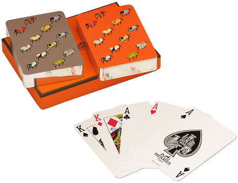 Couture Playing Cards - The Hermes Playing Cards Bring Luxury to an Age-Old Pastime