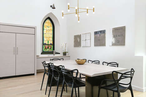 Familial Church Conversions - This Chicago Church Has Been Transformed into a Family Home
