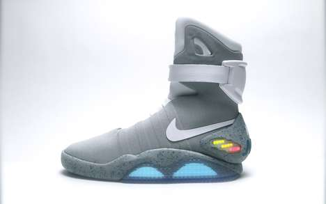 Replica Sci-Fi Sneakers - Back to the Future Fan Brad Fyfe Made His Own DIY Nike Mags