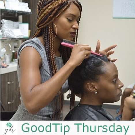 Natural Hair Drybars - This Quick Service Salon Specializes in Beautiful Natural Styles