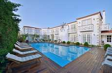 Tiny Historic Hotels - The Bay C Boutique Hotel in Turkey Has a Total of 17 Rooms
