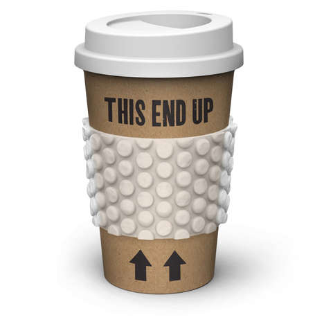 Biodegradable Travel Cups - Fred's Sipping Container is a Green Way to Take Your Drink with You