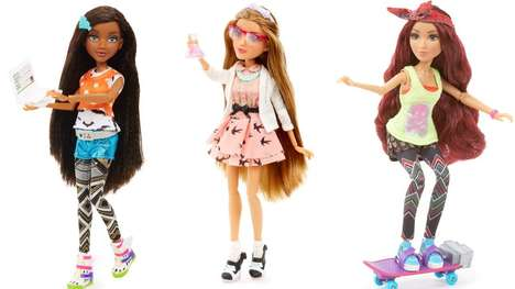 Educational Fashion Dolls - This Line of Dolls Titled Project Mc² Seeks to Empower and Educate Girls