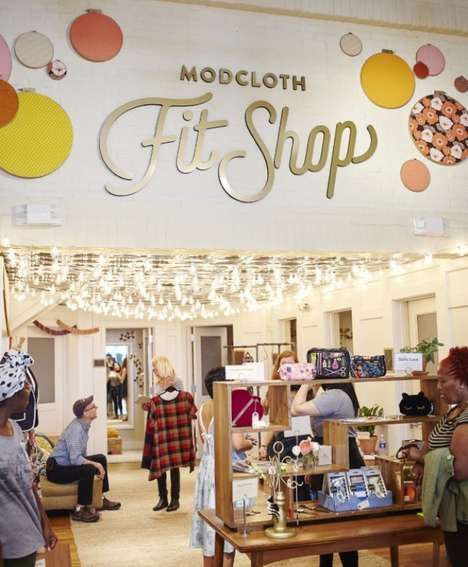 Fitting Room Shops - Modcloth's Pop-Up 'Fit Shop' Gives People Access to Online-Only Clothing