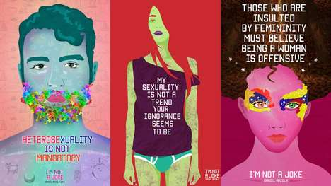 Empowering LGBT Art - These LGBT Posters Reveal Struggles Faced by the Gay Community