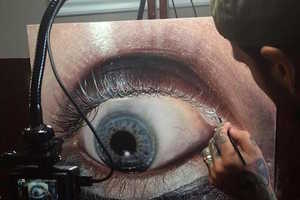 This Artist Creates Immaculately Realistic Eye-Mimicking Portraits