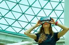 Virtual Museum Exhibits - The Virtual Reality Weekend Transports Museum Visitors to the Bronze Age